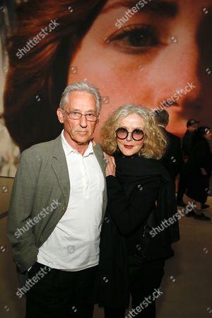 Stock Image of Ed Ruscha and Danna Ruscha