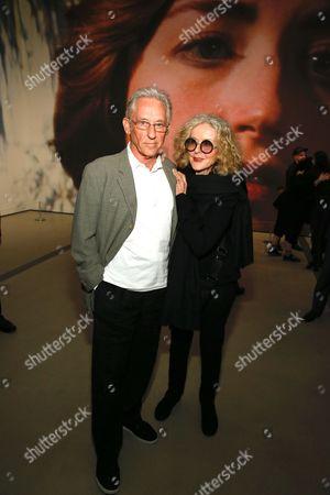 Stock Photo of Ed Ruscha and Danna Ruscha