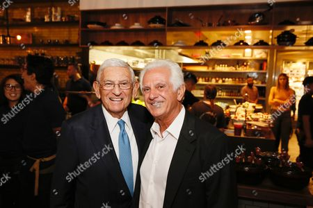 Eli Broad and Maurice Marciano