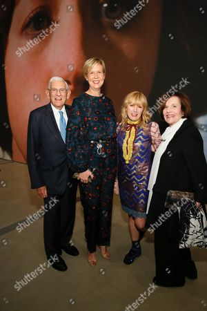 Eli Broad, Joanne Heyler, Cindy Sherman and Edythe Broad