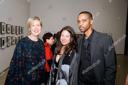 Joanne Heyler, Katherine Ross and Alphaeus Taylor