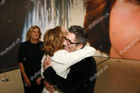 Ann Philbin and Leland Orser