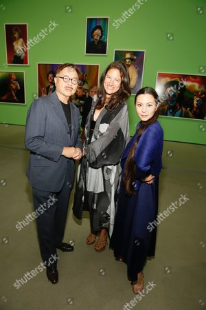 Michael Chow, Katherine Ross, and China Chow