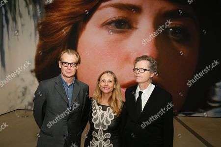 Philippe Vergne, Marnie Weber and Jim Shaw