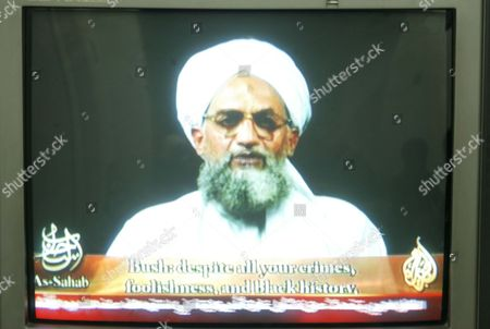 "Al Qaeda deputy leader Ayman al - Zawahiri called President George W Bush a ""butcher"" and a ""failure"" in a videotape. It was his first appearance since an American airstrike that targeted him this month in Pakistan."