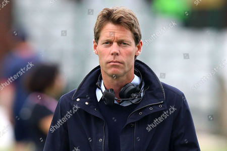 Sky Sports presenter Nick Knight during Essex Eagles vs Gloucestershire, Nat West T20 Blast Cricket at the Essex County Ground on 16th June 2016