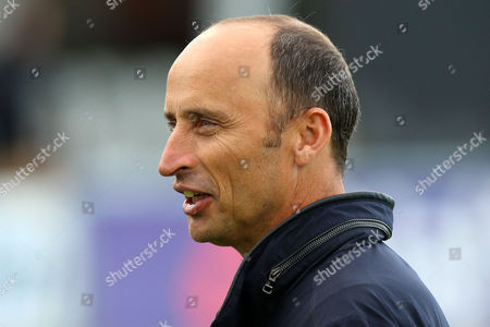Sky Sports presenter Nasser Hussain during Essex Eagles vs Gloucestershire, Nat West T20 Blast Cricket at the Essex County Ground on 16th June 2016