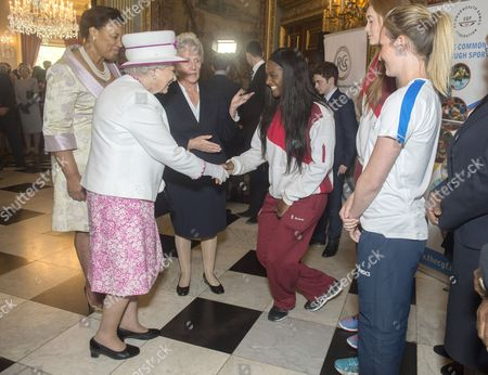 Editorial image of Queen Elizabeth II launches Commonwealth Hub, London, UK - 09 Jun 2016