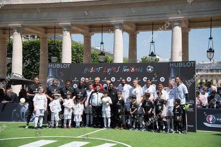 Clarence Seedorf, Howard Webb, Diego Maradona, Pele, Rio Ferdinand, Dida