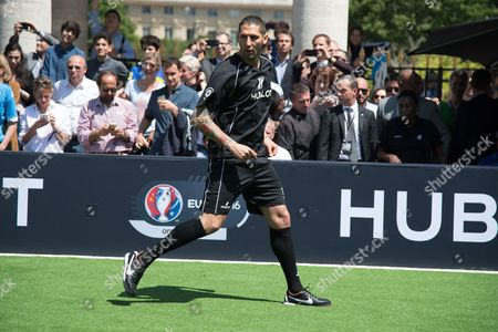 Marco Materazzi in action