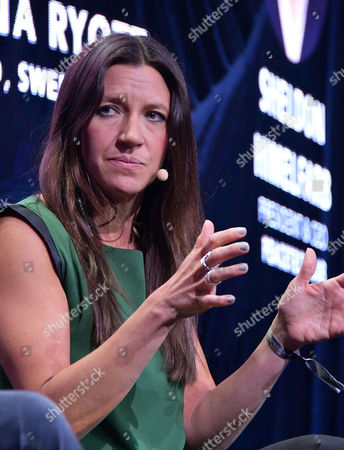 Stock Photo of Anna Ryott, CEO, Swedfund