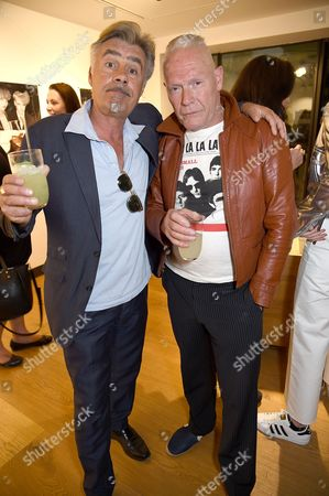 Stock Picture of Glen Matlock and Jesse Hector