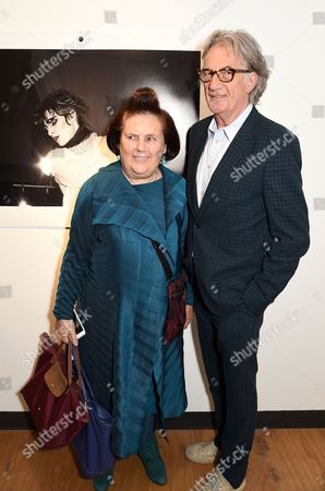 Suzy Menkes and Sir Paul Smith