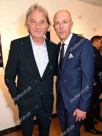 Sir Paul Smith and Dylan Jones