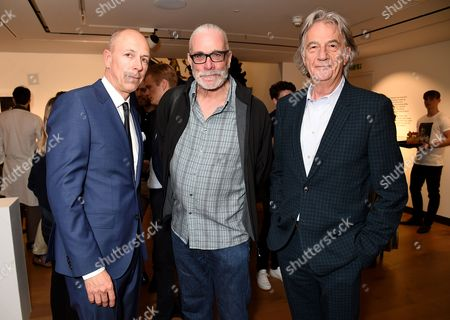 Dylan Jones, Derek Ridgers and Sir Paul Smith