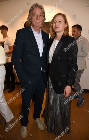Sir Paul Smith and Sarah Mower