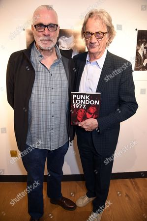 Stock Image of Derek Ridgers and Sir Paul Smith
