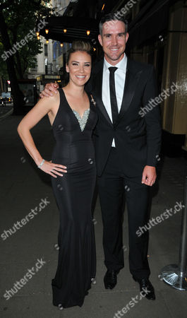 Stock Picture of Jessica Taylor and Kevin Pietersen