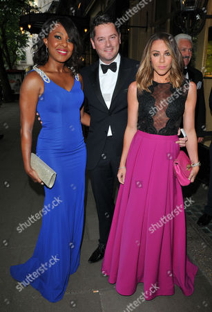 Kelli Young, Tony Lundon & Michelle Heaton