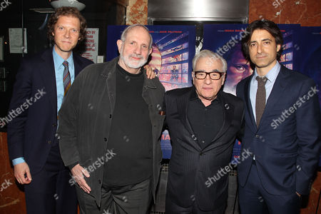 Jake Paltrow, Brian De Palma, Martin Scorsese and Noah Baumbach