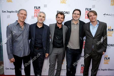 Alex Garcia, Alfonso Cuaron, Jonas Cuaron, Carlos Cuaron, Nicolas Celis