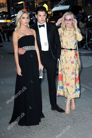 Stock Picture of Maria-Olympia, Peter Brant II, Theodora Richards