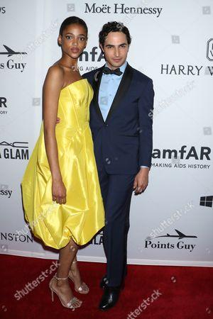 Aya Jones and Zac Posen