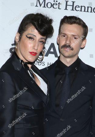 Ladyfag and Adam Selman