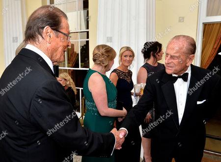 Sir Roger Moore, Prince Philip