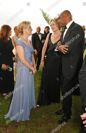 Sophie Countess of Wessex, Fiona Hawthorne and Colin Salmon