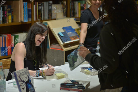 Editorial image of Maggie Stiefvater book signing for 'The Raven King', Coral Gables, Florida, USA - 08 Jun 2016