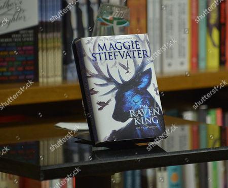 Stock Photo of Maggie Stiefvater's Book