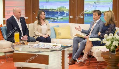 Jim Gamble, Athene Hunt, Ben Shephard and Kate Garraway