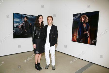 Bettina Korek and Scott Sternberg