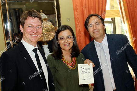 Editorial image of Author Isabel Vincent's new Memoir 'Dinner With Edward' celebration, New York, USA - 09 Jun 2016