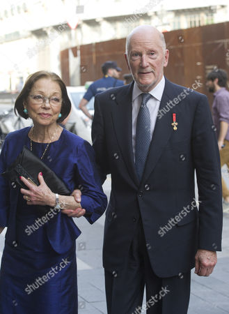 King Simeon II and wife Margarita Gomez-Acebo