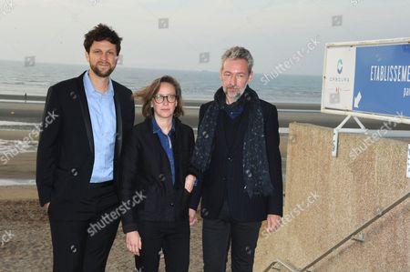 Pierre Rochefort, Celine Sciamma and Eric Reinhardt
