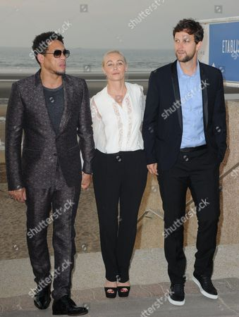 Joeystarr, Emmanuelle Beart and Pierre Rochefort