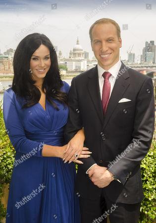 Vicky Pattison and Prince William look-alike Simon Watkinson