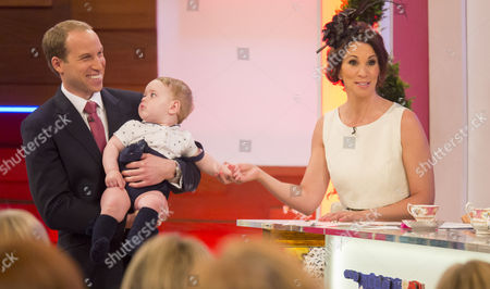 Prince William look-alike Simon Watkinson, Prince George look-alike, Andrea McLean