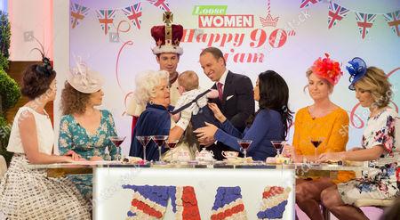 Editorial image of 'Loose Women' TV show, London, UK - 10 Jun 2016