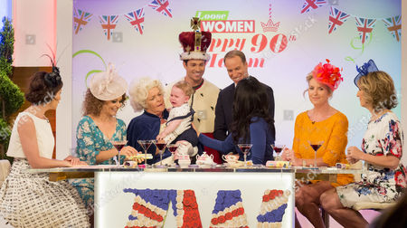 Editorial picture of 'Loose Women' TV show, London, UK - 10 Jun 2016