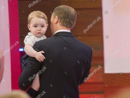 Prince George look-alike, Prince William look-alike Simon Watkinson