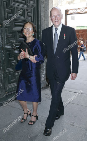 King Simeon II and his wife Margarita Gomez-Acebo
