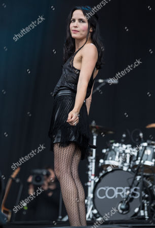 Andrea Corr of The Corrs