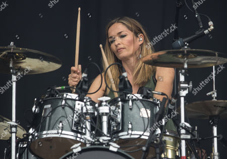 Caroline Corr of The Corrs