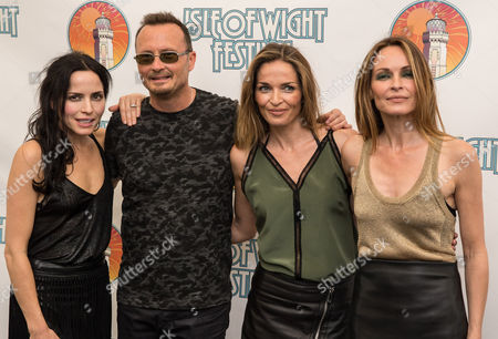 Andrea Corr, Jim Corr, Sharon Corr and Caroline Corr of the Corrs