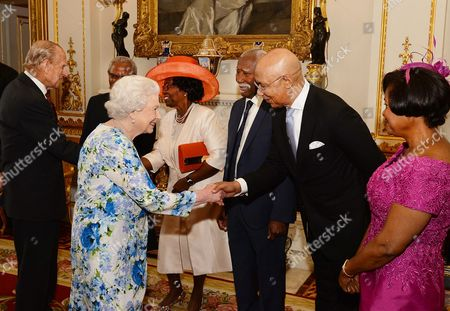 Editorial picture of Governor General's lunch, Buckingham Palace, London, UK - 10 Jun 2016