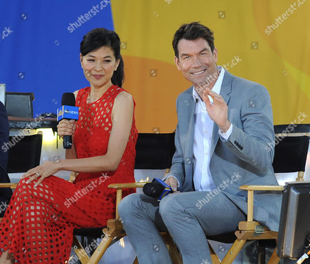 Stock Image of Jerry O'Connell and SuChin Pak