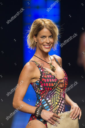 Stock Image of Sara Kulhmann on the catwalk